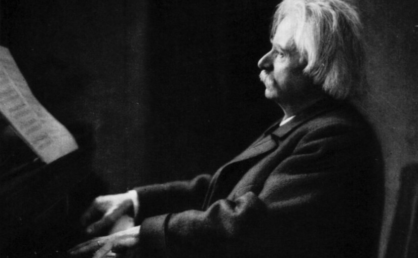 Grieg Playing Piano